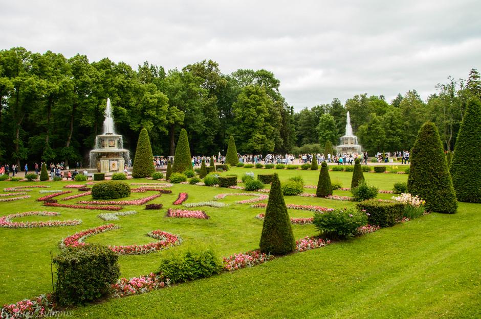Парк в Петегофе