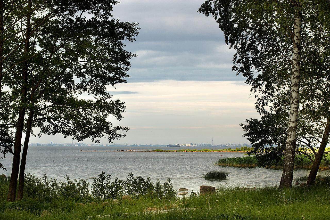 Парк Александрия. Вид на Финский залив