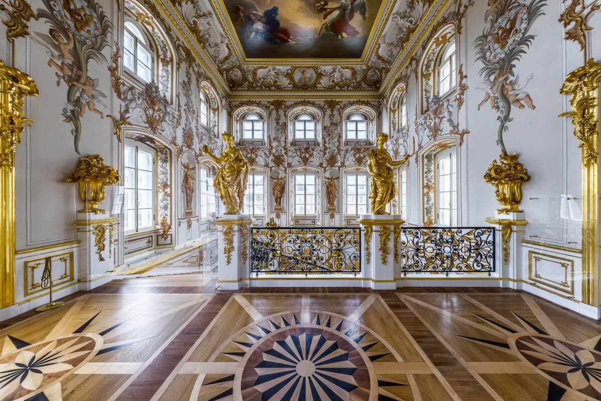 Большой Дворец интерьер