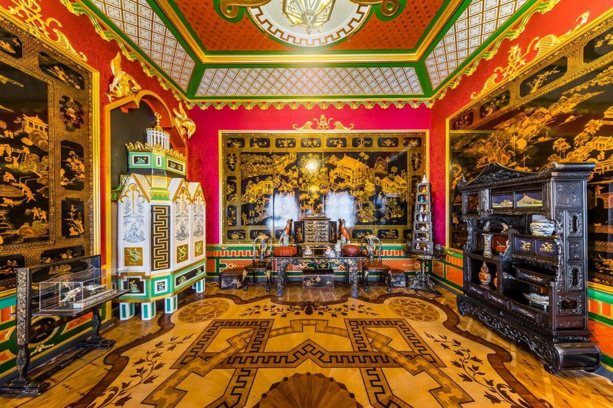 Китайский кабинет в Большом дворце