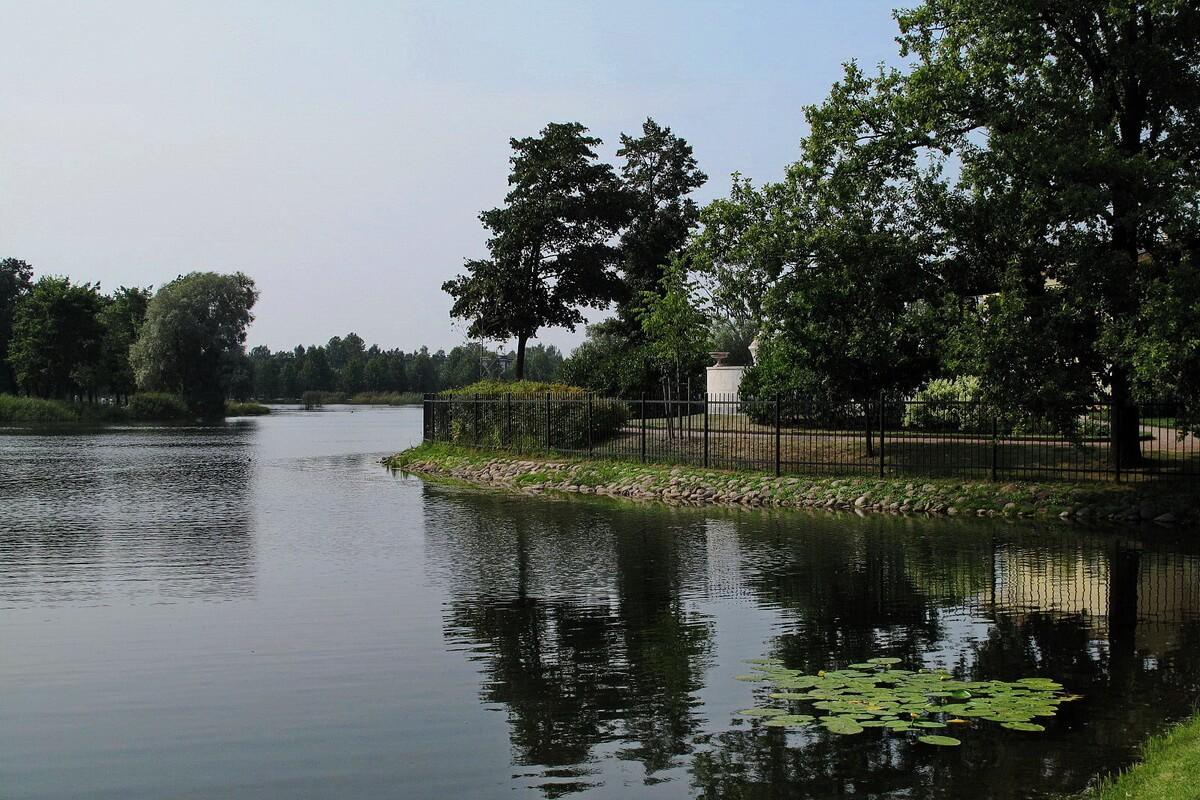Ольгин пруд в Колонистском парке