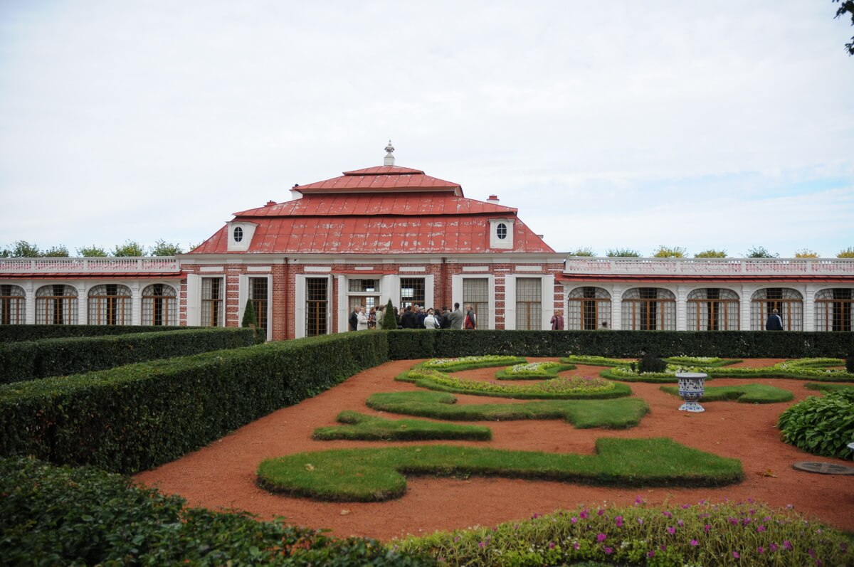 Дворец Монплезир. Сад.