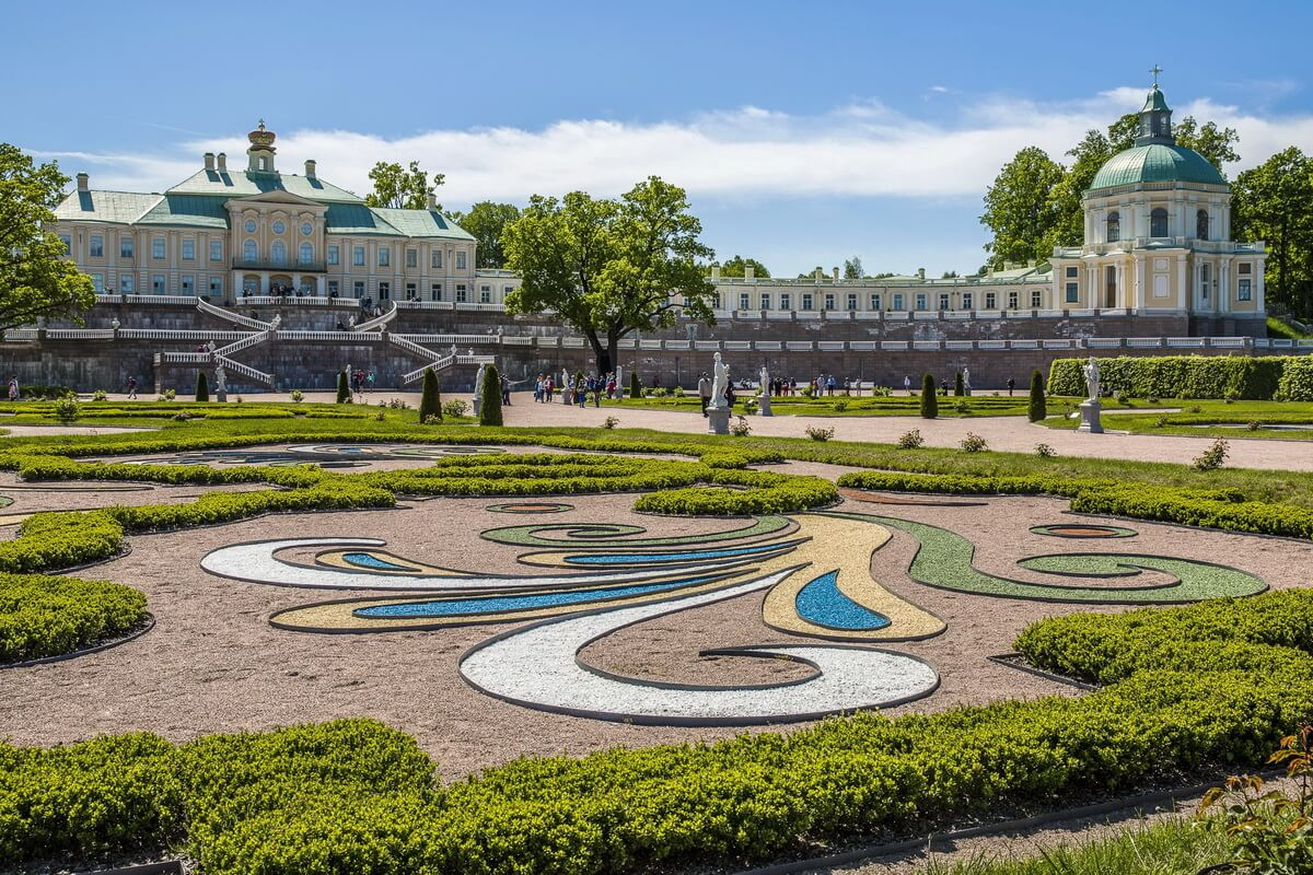 Меньшиковский дворец в Ораниенбауме