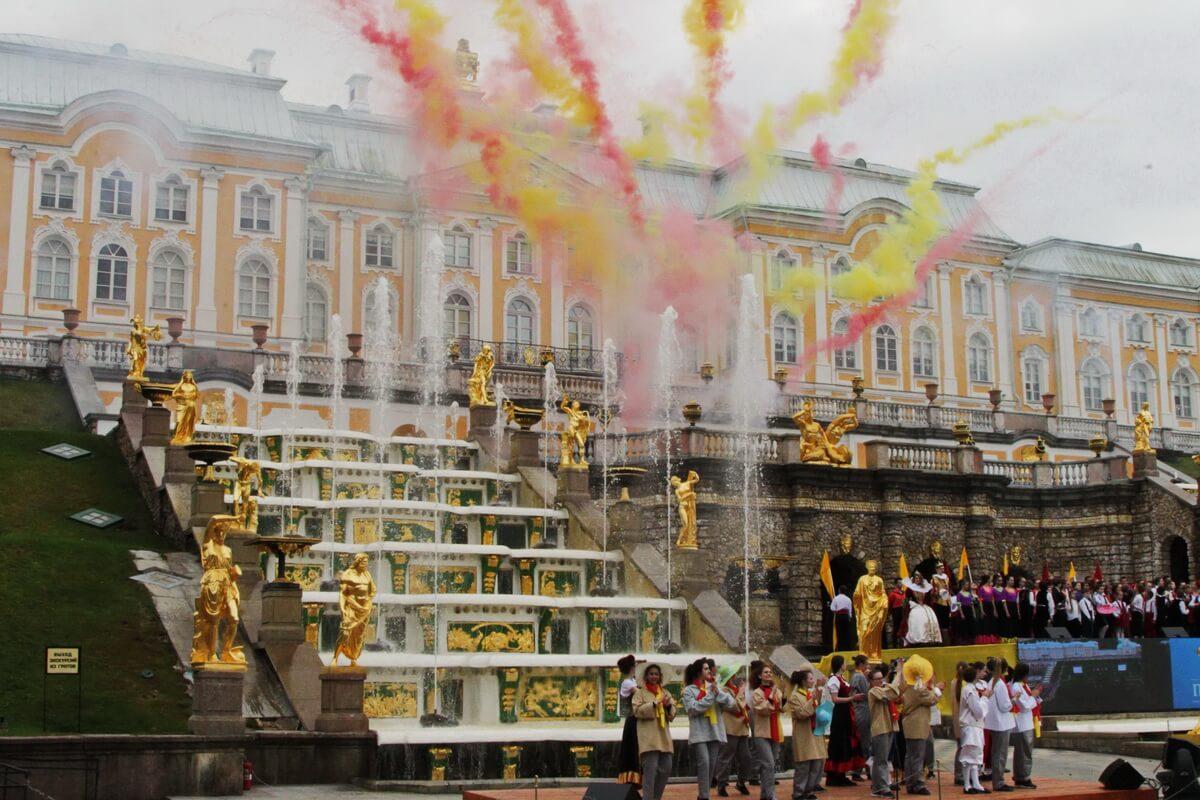 Концерт в честь Открытия фонтанов