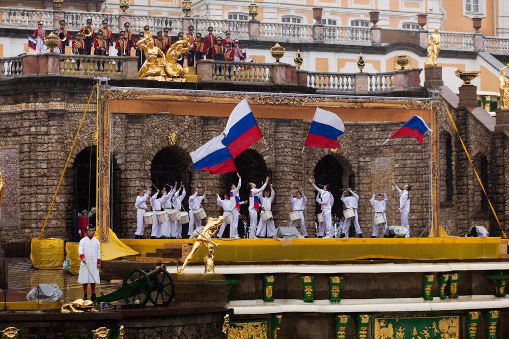 Весенний праздник Открытия фонтанов