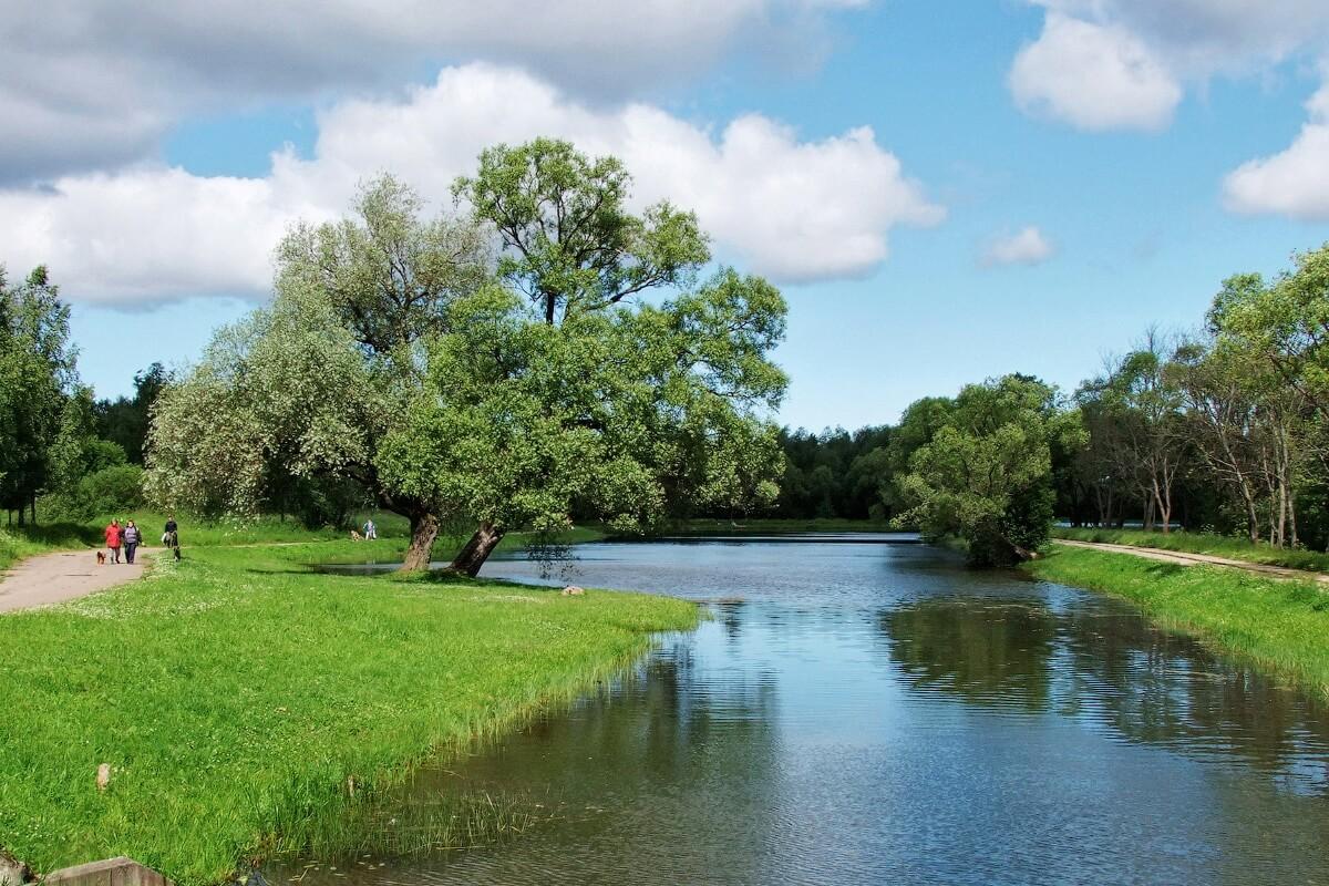 Озерковый парк в Петергофе