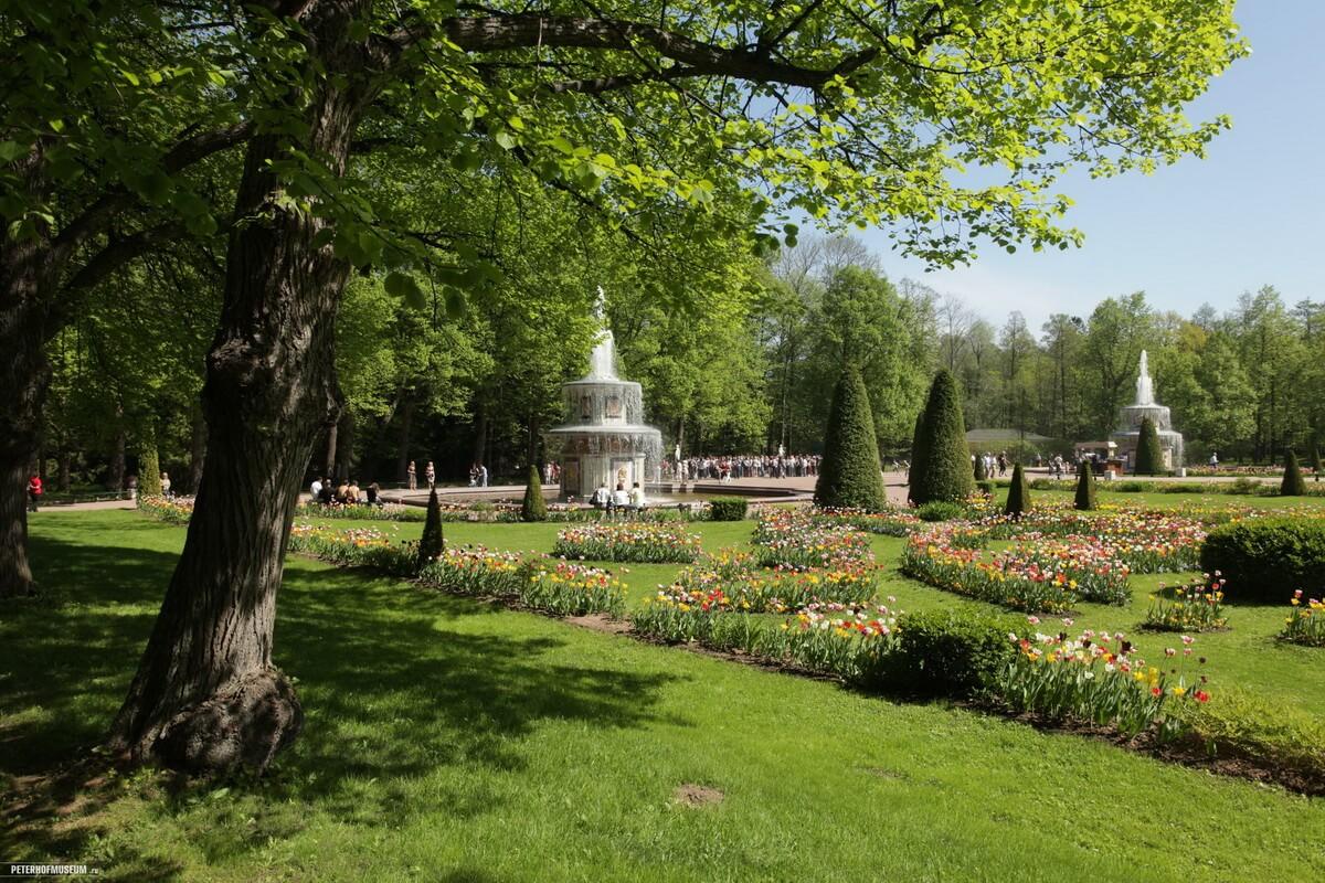 Петергоф. Римские фонтаны