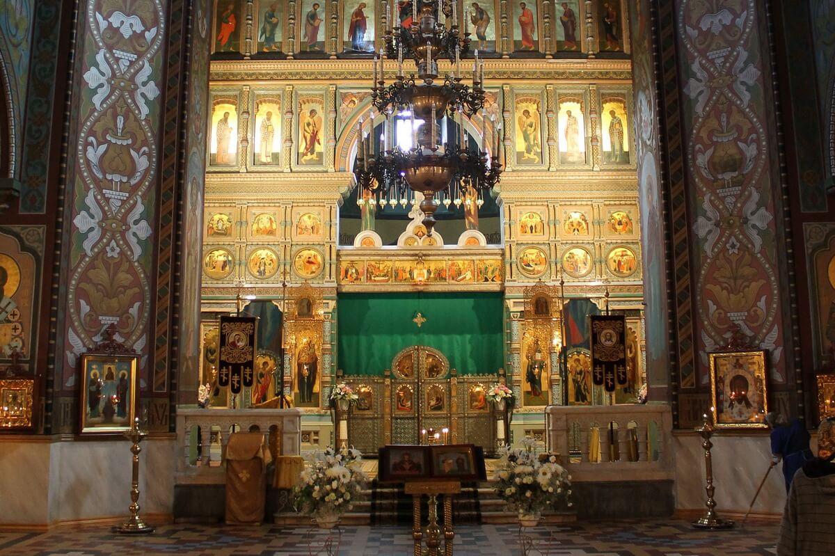 Иконостас в Соборе Петра и Павла