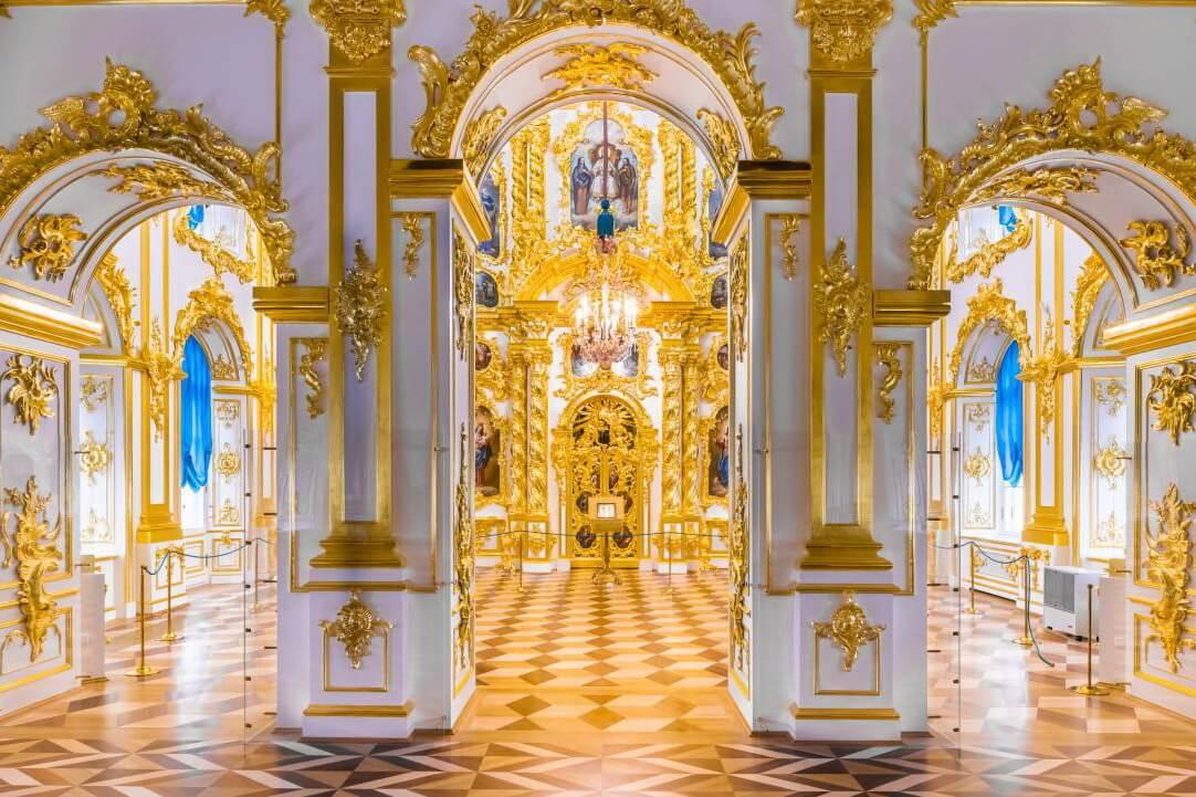 Церковный корпус (внутреннее убранство)