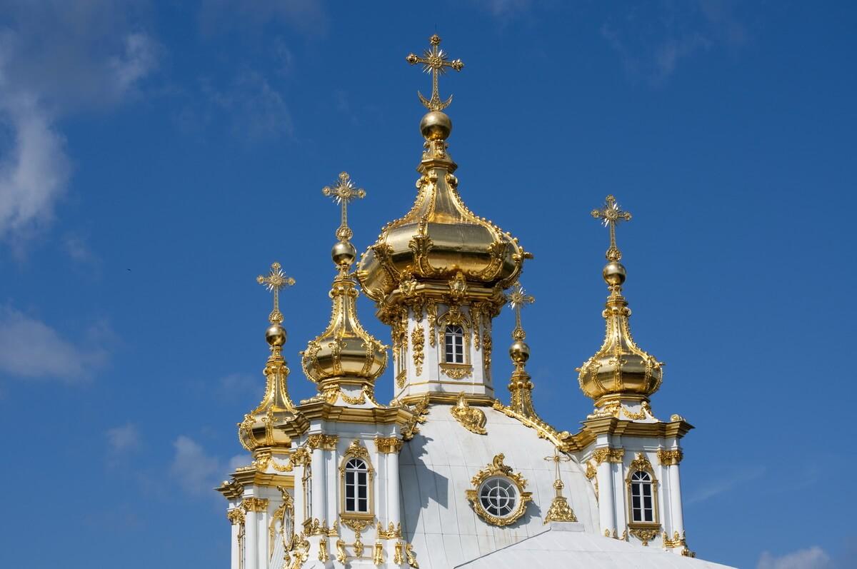 Церковный корпус в Петергофе
