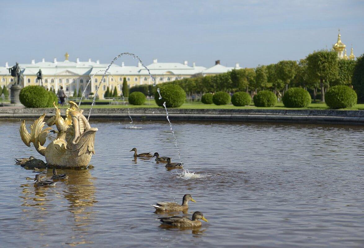 Верхний Сад (фонтан-пруд)
