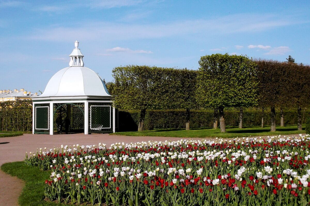 Верхний Сад у Императорского дворца