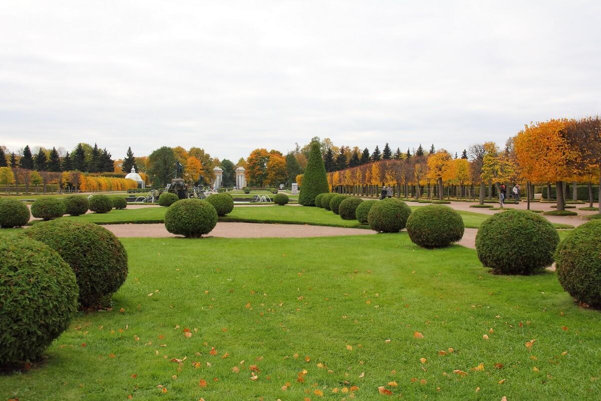 Верхний Сад в Петродворце