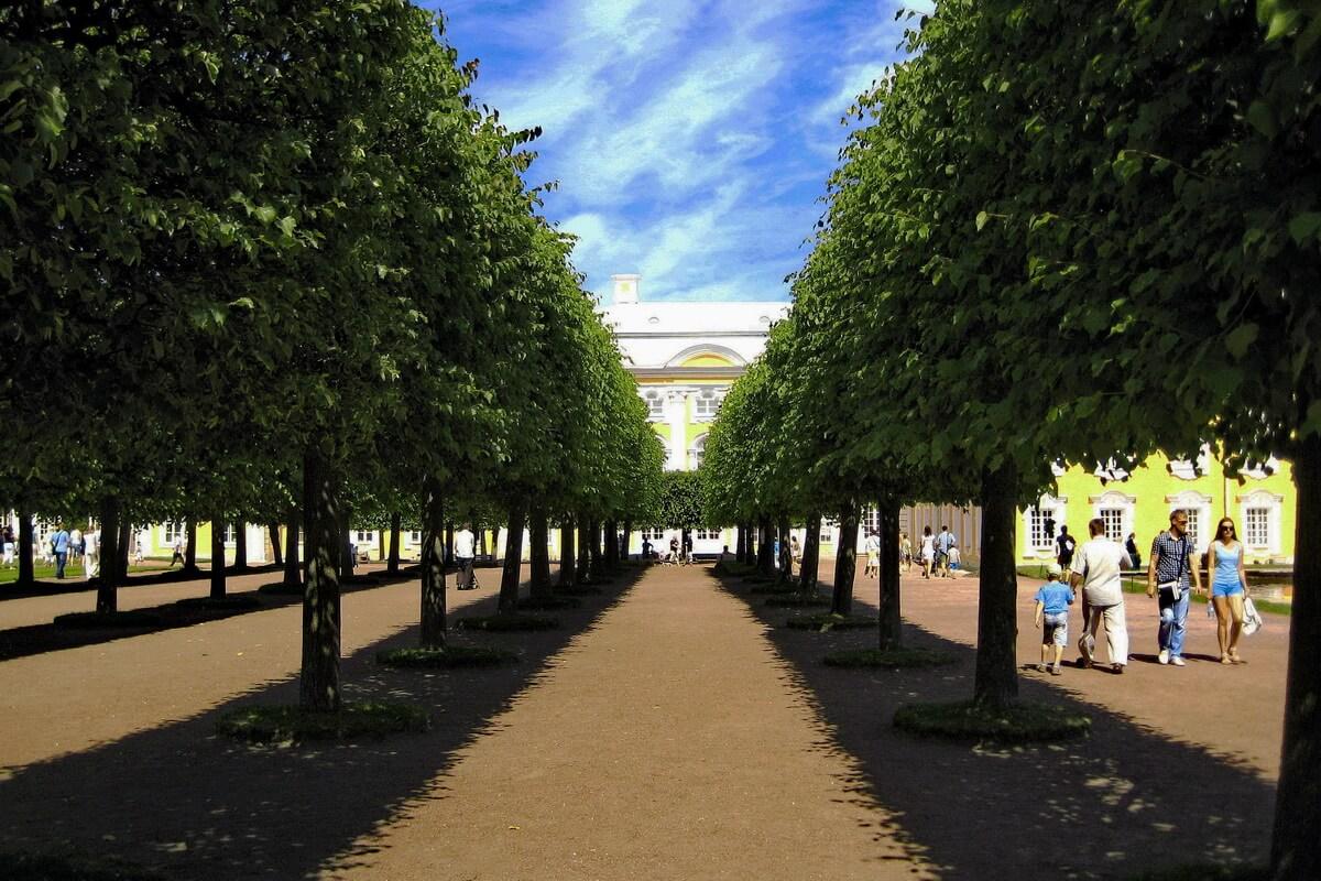 Петродворец. Верхний Сад