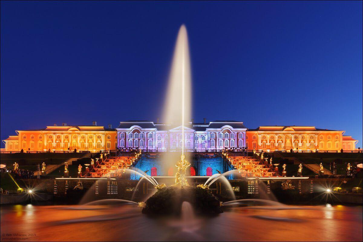 Осенний праздник закрытия фонтанов