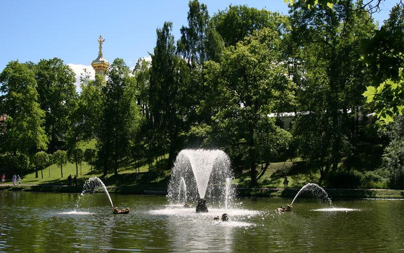Все фонтаны Петергофа