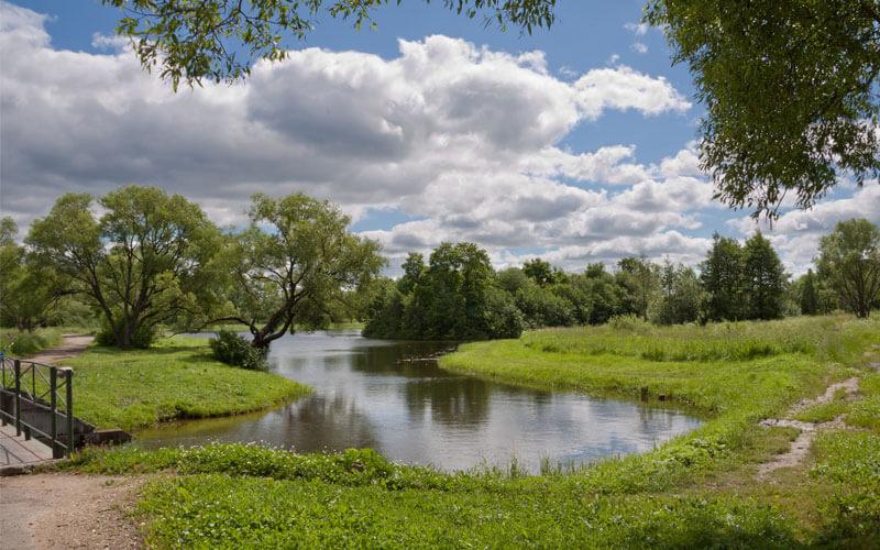 Луговой парк Петергофа