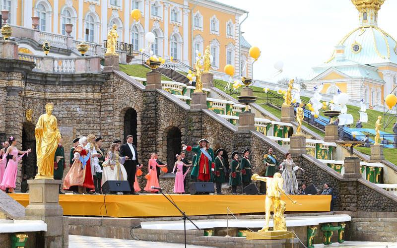 Открытие фонтанов 2018